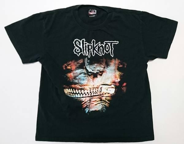Slipknot スリップノット THE SUBLIMINAL VERSES ジャパンツアー2004 Tシャツ XLサイズ 【送料最安164円~】