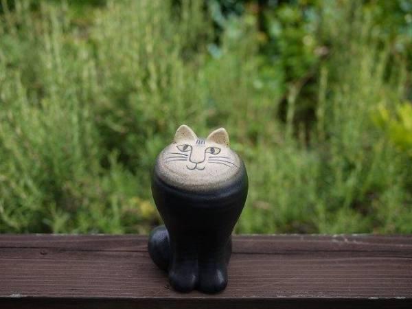 新品!リサ・ラーソン ネコのマヤ ブラック MAYA 北欧 スウェーデン Lisa Larson 置物 インテリア_画像1