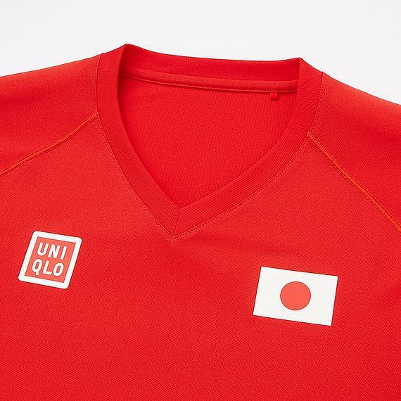 ユニクロ 2016 リオオリンピック ドライEXTシャツ S 錦織圭_画像2