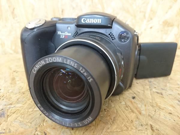 B-1★canon キャノン★ Powershot S3 IS デジタルカメラ ジャンク