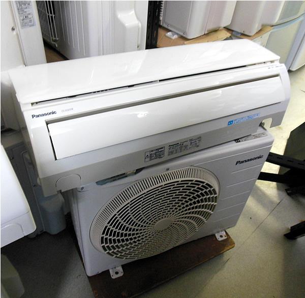 パナソニック ルームエアコン CS-222CFR  中古品 相模原 少々難あり 町田 横浜