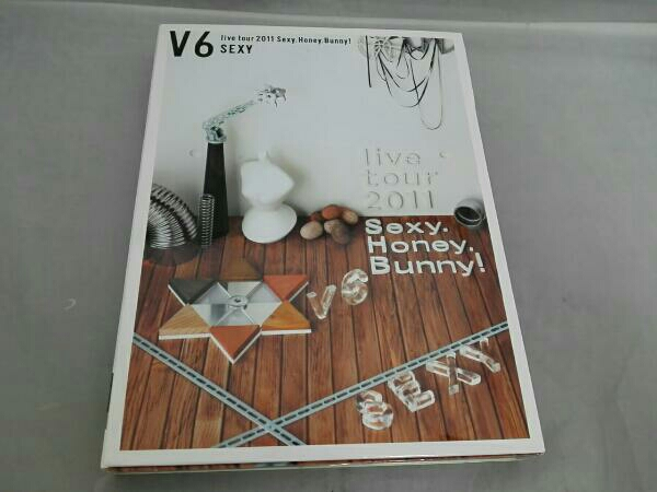 V6 live tour 2011 Sexy.Honey.Bunny!(初回限定版B)(Sexy盤) DVD コンサートグッズの画像