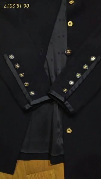 ジャケットジャケット 黒 美品 S~M_画像2