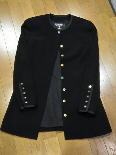ジャケットジャケット 黒 美品 S~M