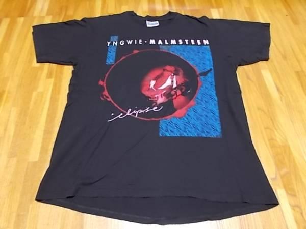 90s YNGWIE MALMSTEEN イングウェイ マルムスティーン Tシャツ サイズL 1990 8