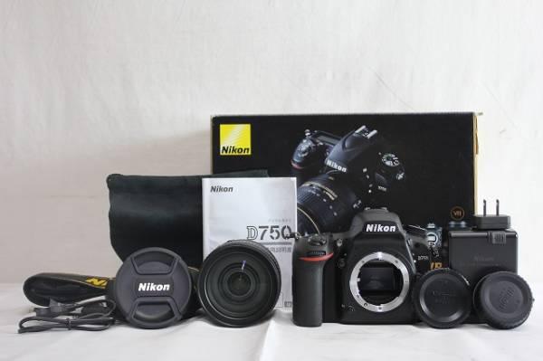 8hEX05164 ニコン D750 AF-S 24-120mm VR 一眼レフカメラ 元箱