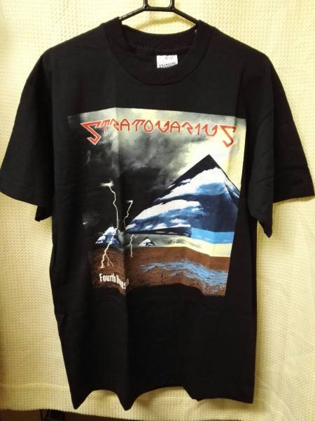06 バンドTシャツ ストラヴァリウス フォースディメンションツアー 95 L