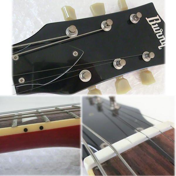 【Y14/K】Burny エレキギター レスポールタイプ SRLG-55 ソフトケース_画像3