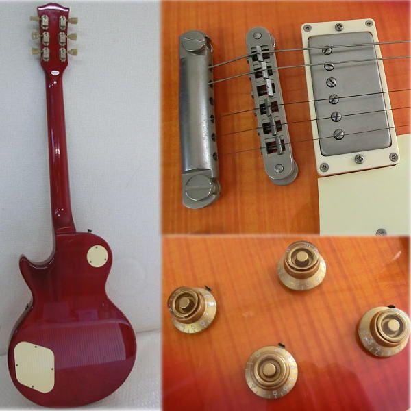 【Y14/K】Burny エレキギター レスポールタイプ SRLG-55 ソフトケース_画像2