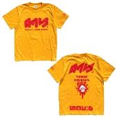 即決 スプラトゥーン2 × TOWER RECORDS タワレコ T-shirt 黄 XLサイズ 新品 グッズの画像
