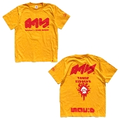 Summarily Splatoon 2 × TOWER RECORDS Tower Records T-shirt yellow size L new
