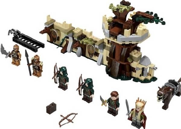 レゴ LEGO ☆ ロードオブザリング ホビット Load of the Rings / The Hobbit ☆ 79012 闇の森のエルフ軍 Mirkwood Elf Army ☆ 新品_画像2