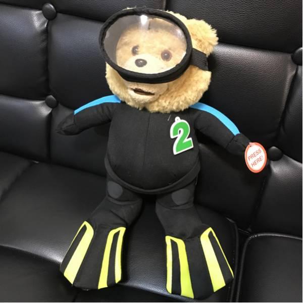 【必見!】映画 Ted2 テッド2 公式 おしゃべり ぬいぐるみ 30~40cm 16インチ スキューバ しゃべる テディベア グッズの画像