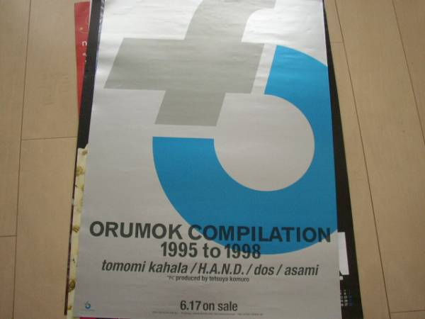 ○208 ORUMOK/小室哲哉 ポスター