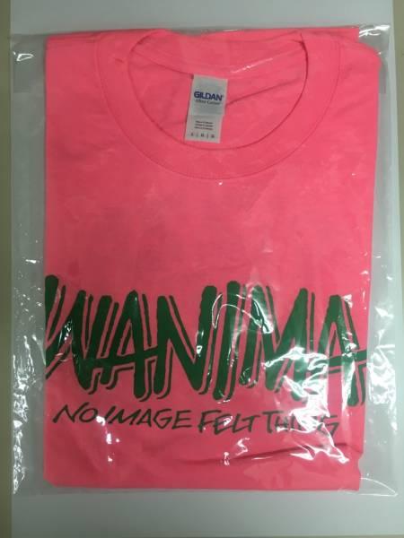 廃版☆レア☆PIZZA OF DEATHバックプリント WANIMA Tシャツ L ピンク ワニマ ライブグッズの画像