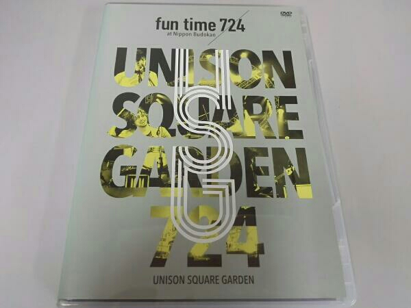 "UNISON SQUARE GARDEN LIVE SPECIAL""fun time 724at Nippon Budokan 2015.07.24 ライブグッズの画像"