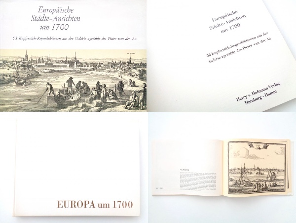 楽しい古本★欧州 ヨーロッパ 西暦1700年頃の都市 風景  17世紀~18世紀 景色  Matthaeus Merian マテウス・メーリアン 他_HP有☆古い地図やその他古書も出品中