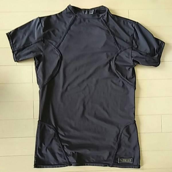 超美品公式バイオハザード レオンSケネディ着用忠実モデルMサイズ ブラック タイトフィットバージョン グッズの画像