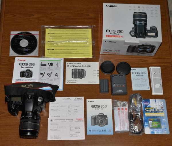 ★中古美品 Canon キヤノン EOS 30D EF-S17-85 IS USM Kit 完動品