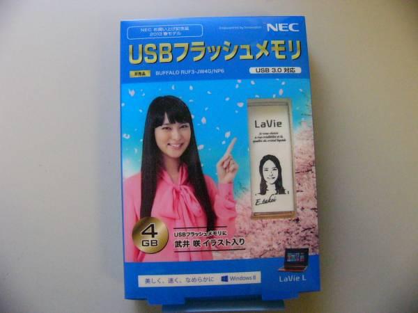 武井咲 イラスト入り USBフラッシュメモリ グッズの画像