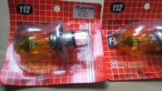 当時物、長期保管新品 スタンレー イエローバルブ H4 12V60/55W 2個セット