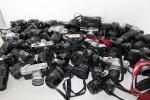 ジャンクカメラ-レンズ付き 26台おまとめ/NIKON/CANON/PENTAX/MINOLTA他