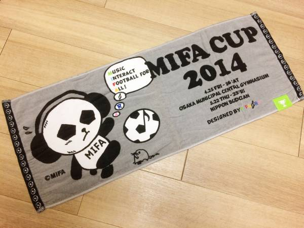 即決!激レア!?なMIFACUP2014のタオル Mr.Children ウカスカジー GAKU-MC