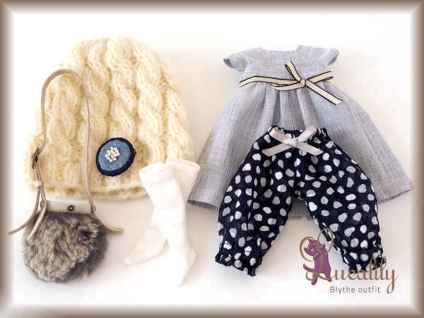 ** Blythe outfit ** Lucalily 535 **_画像3