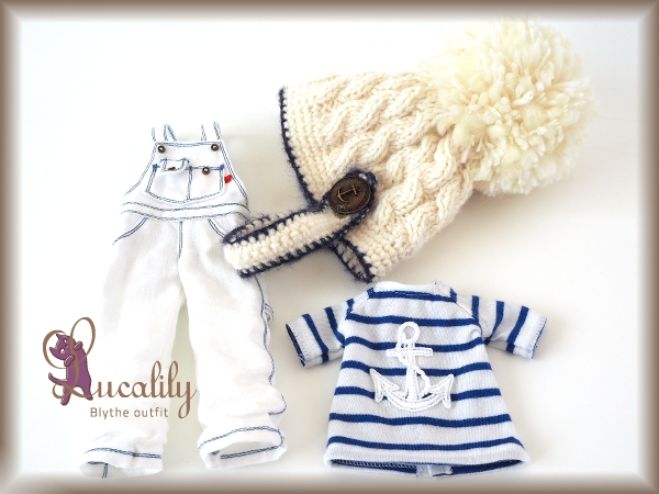 ** Blythe outfit ** Lucalily 537 **_画像2