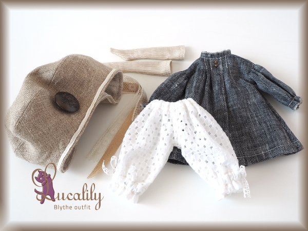** Blythe outfit ** Lucalily 540 **_画像3