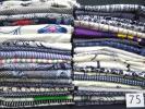 ★大量着物★浴衣40点まとめて綿素材・裂織布ぞうり手芸等に★75