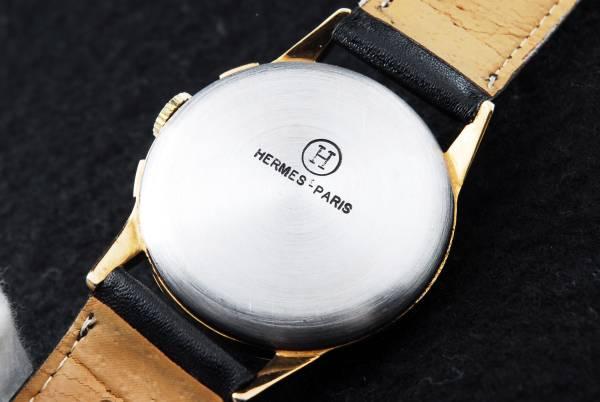 ヴィンテージ エルメス Hermes クロノグラフ手巻腕時計 192813 _画像2