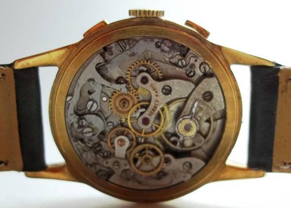 ヴィンテージ エルメス Hermes クロノグラフ手巻腕時計 192813 _画像3
