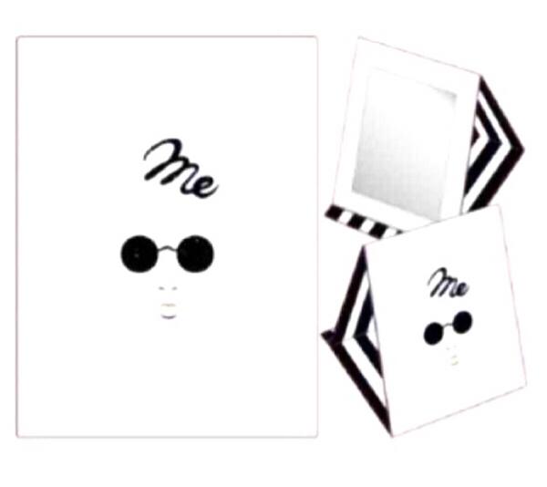 レア!【 新品・未開封品 】赤西仁 me ミラー JIN AKANISHI LIVE TOUR 2015 ~me~ ツアーグッズ ライブグッズ ライブグッズの画像
