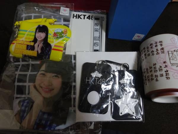 HKT48 松岡はな グッズ まとめ 湯呑 Tシャツなど(管理:37) ライブグッズの画像