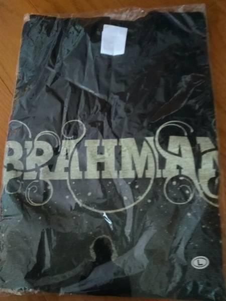 BRAHMAN Tシャツ 霹靂 黒 Lサイズ 東北ライブハウス大作戦 ライブグッズの画像