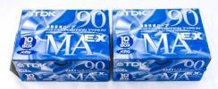 未使用 計20本 TDK MAEX-90 メタル カセットテ