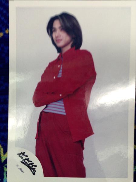 【公式写真】KinKi Kids 堂本光一 赤シャツ赤パンツ 古め