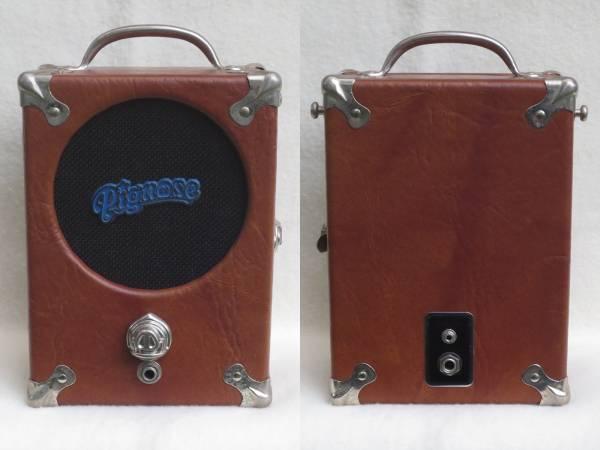 送料安価! Pignose 7-100 Red Label Made in USA 後期仕様 ピグノーズ レッドラベル ヴィンテージ