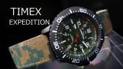 【1円】TIMEXタイメックス逆輸入モデル腕時計メンズ新品カモフラ迷彩インディグロナイトライトクォーツアナログミリタリーポリコットン