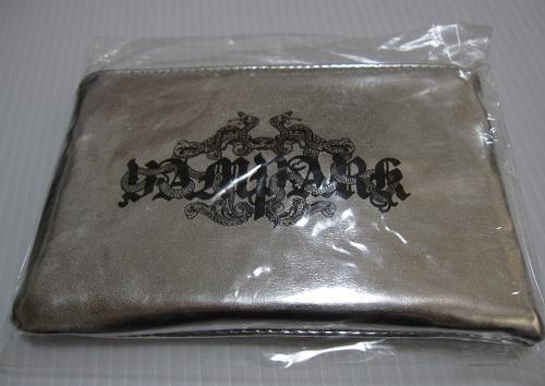 レア ◆ VAMPS HYDE ◆ VAMPARK 2010 グッズ 景品 ポーチ ◆ 非売品 未開封