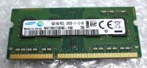 ★SAMSUNG 4GB DDR3 PC3-12800S ノートPC用 増設メモリー x24_1