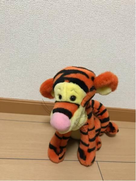 ティガー ぬいぐるみ TDR購入 20年前 美品 ディズニーグッズの画像