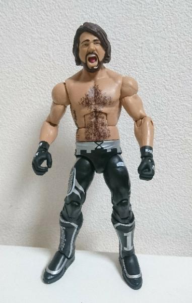 WWE マテル エリート51 AJスタイルズ フィギュア ジャンク グッズの画像