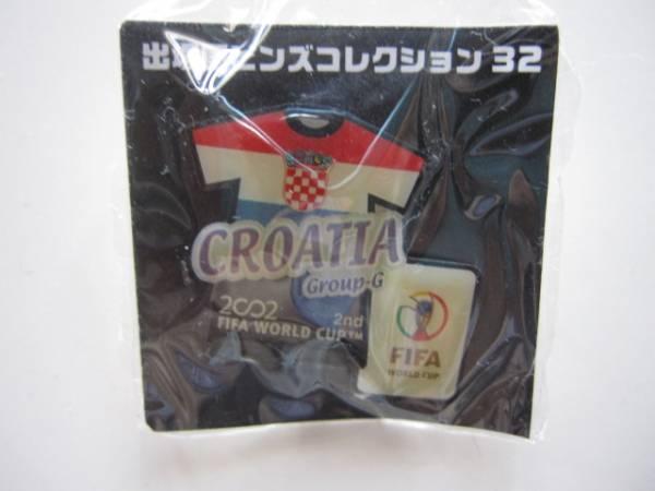 2002 ワールドカップ 出場国ピンバッチ クロアチア