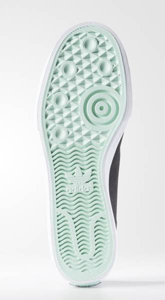 27.5cm●アディダス スケートボーディング マッチコート スリップ 灰  adidas skateboarding MATCHCOURT SLIP ADV グレー B27337_画像3