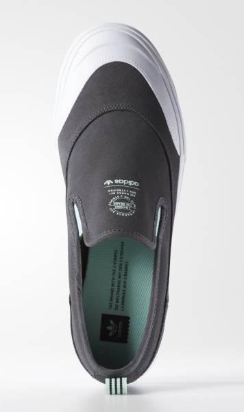 27.5cm●アディダス スケートボーディング マッチコート スリップ 灰  adidas skateboarding MATCHCOURT SLIP ADV グレー B27337_画像2