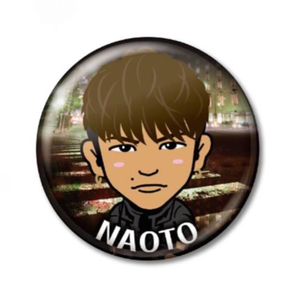 三代目J Soul Brothers EXILE NAOTO 缶バッジ METROPOLIZ ツアーパンフレット 中ページA ガチャ