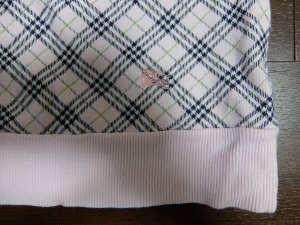 バーバリーのピンクチェックTシャツ38号正規品_画像2