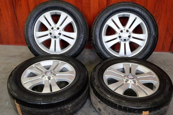 メルセデス ベンツ X164 GL純正 19インチアルミ・タイヤ4本セット X164 W164_画像1